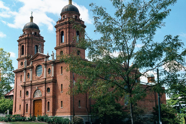 Fun things to do in Asheville NC : Basilica of St. Lawrence in Asheville NC.