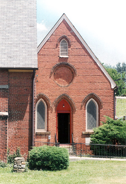 Fun things to do in Asheville NC : Mt Matthias Episcopal Church in Asheville, NC.