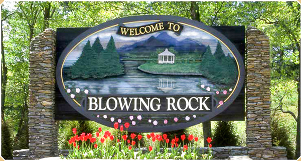 Fun things to do in Asheville NC : Blowing Rock, NC.