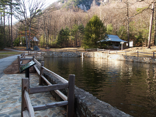 Jones Gap State Park in Upstate South Carolina.