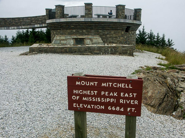 Fun things to do in Asheville NC : Mt Mitchell State Park in Burnsville NC.