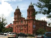 Basilica of St. Lawrence in Asheville NC.