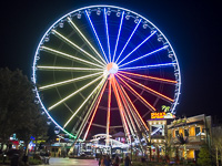 Picture of Ferris Wheel at Pigeon Forge, TN.