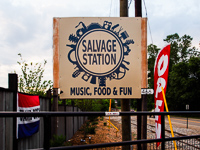Salvage Station in Asheville NC.