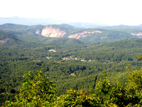 Picture of Whiteside Mountain near Cashiers, NC