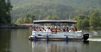 Picture of a Touring Boat on Lake Lure.