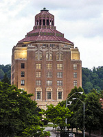 Asheville City Hall in Asheville NC.