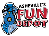 Fun things to do in Asheville NC : Asheville's Fun Depot in Asheville NC.