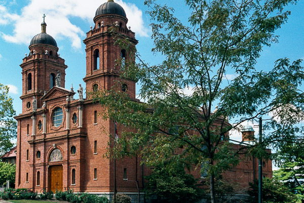 Fun things to do in Asheville NC : Basilica Of Saint Lawrence in Asheville NC.