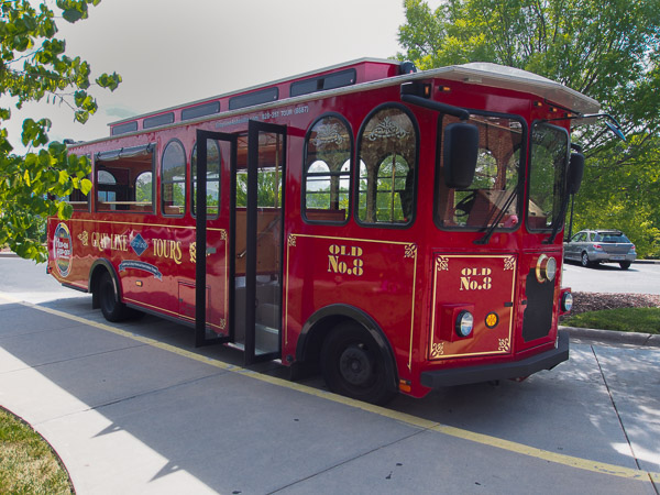 Gray Line Trolley Tours.