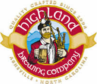Highland Brewing Company in Asheville NC.
